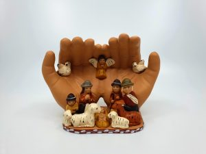 Crèche de Noël « Les Mains »